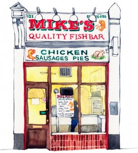 Mike's Quality Fish Bar Essex Road 1000px