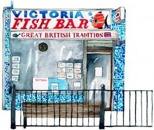 Victoria Fish Bar Roman Road 1000px