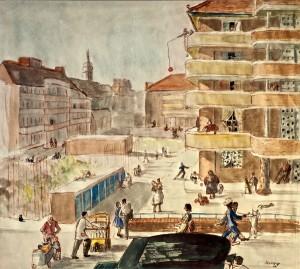 Berner Street Fait Accompli, c1951