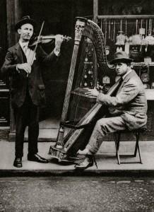 Wondering Harpist