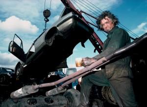 Bow scrapyard 1984