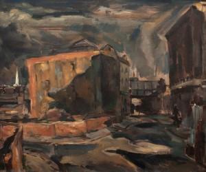 Bombsite Around Christ Church, Spitalfields