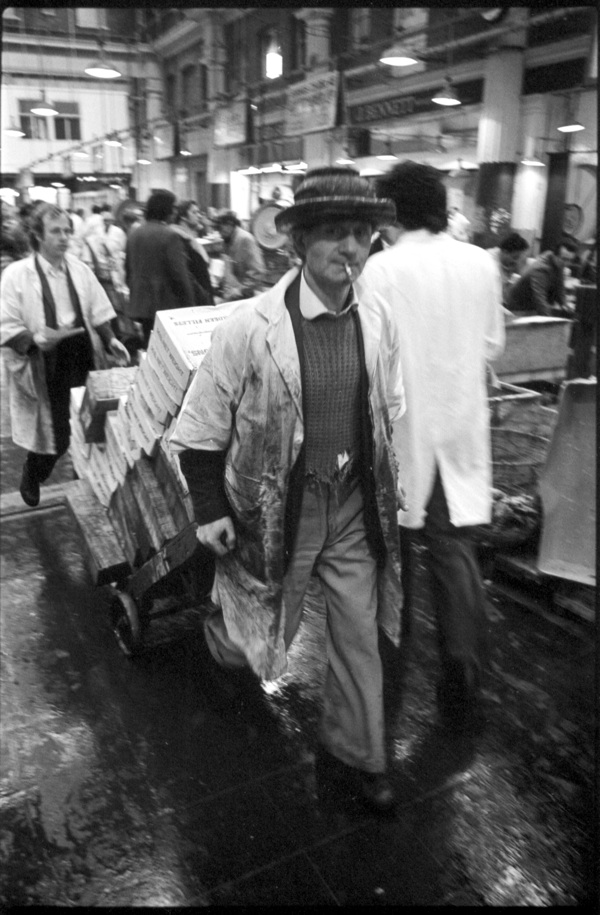 Roy Reed At Billingsgate Market 1975