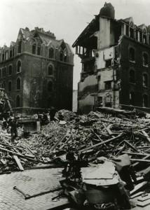5 The Black Buildings in 1941
