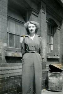 8 Joan Inside Ravenscoft Buildings 1954 (2)