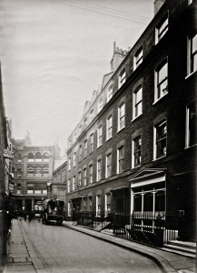 3,4 and 5 Fenchurch Buildings, Aldgate, 28 October 1911
