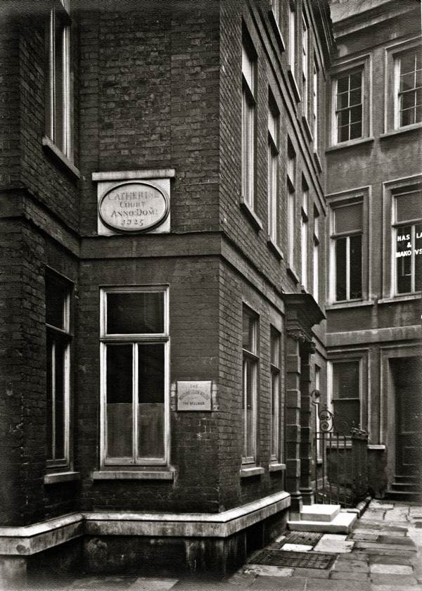 Charles Goss Vanishing London Spitalfields Life