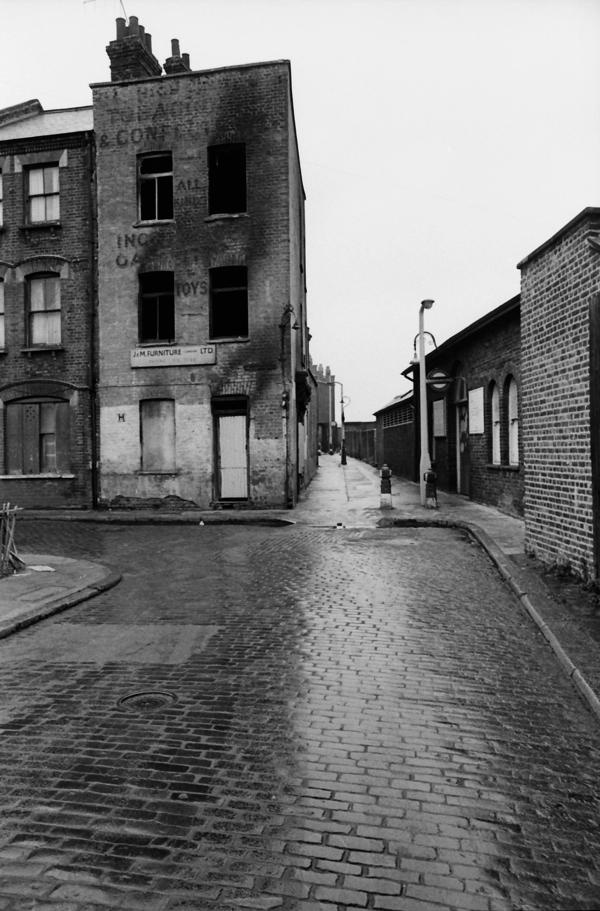 Shoreditch Station: Val Perrin's Empty Brick Lane