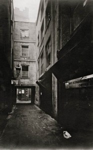 Botolph's Alley, showing No.7 Love Lane, 16 December 1911