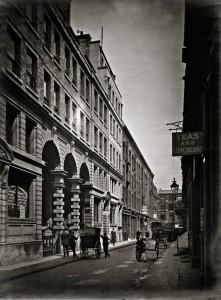 Bury Street looking East, 3 July 1911