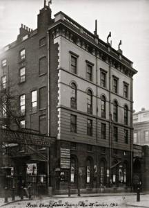 Fresh Wharf, Lower Thames Street, 28 January 1912