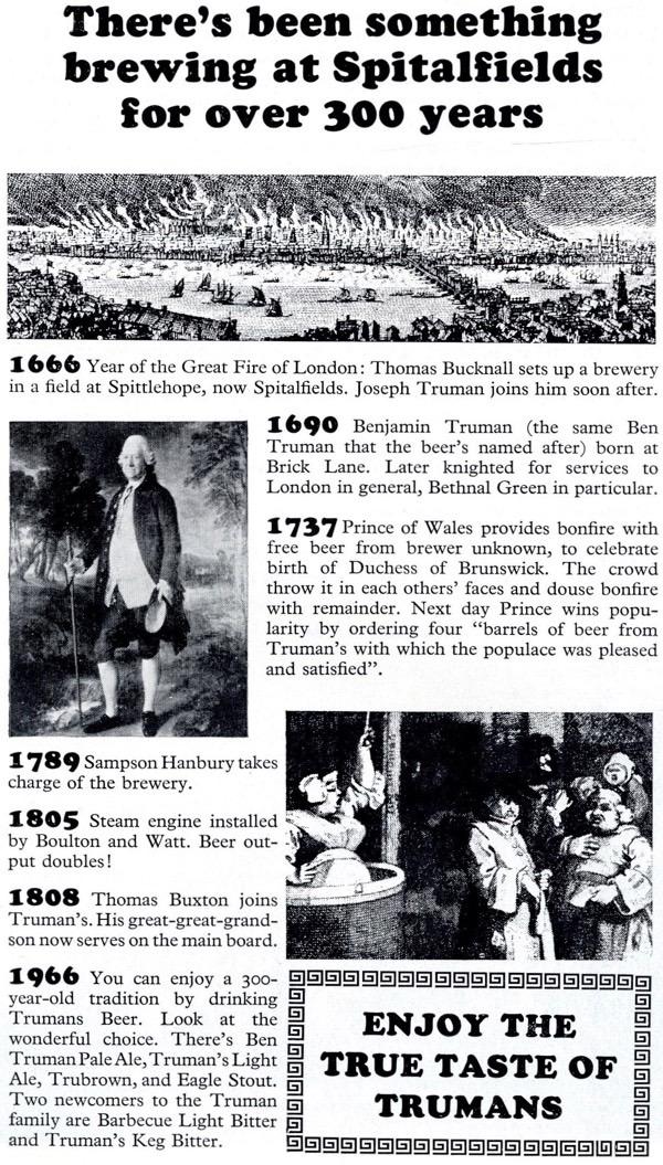 Tower Hamlets Advertisements, 1967 | Spitalfields Life